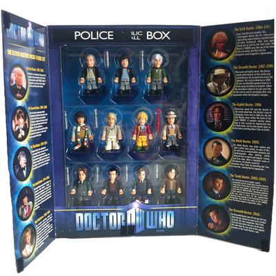 Click to get Doctor Who Mini Figure Set of 11 Doctors