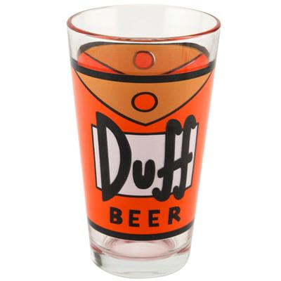 Click to get The Simpsons DuffMan Pint Glass 16oz