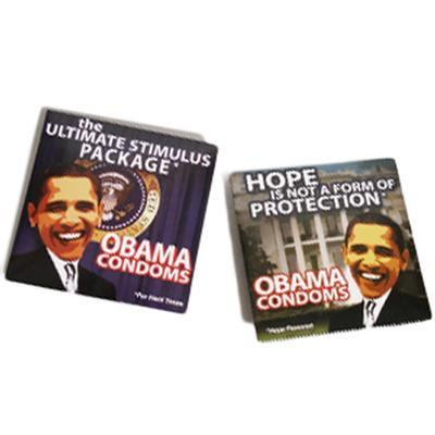 Click to get Obama Condoms 2 Pack