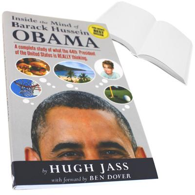Click to get Inside the Mind of Obama Prank Book