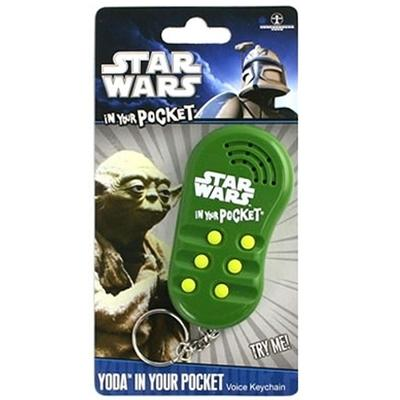 Click to get Star Wars In Your Pocket Talking Keychain Yoda