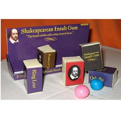 Click to get Shakespearian Insult Gum