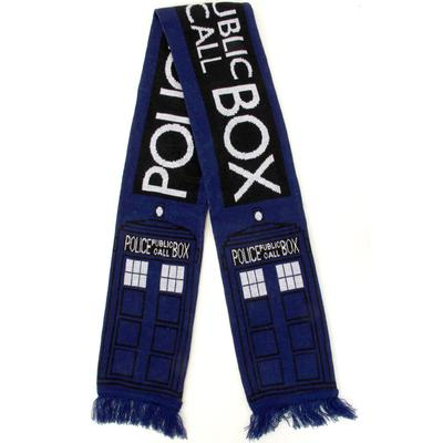 Click to get Doctor Who Deluxe Tardis Scarf