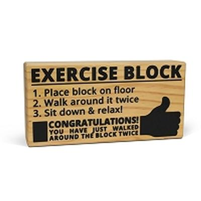 Click to get Exercise Block