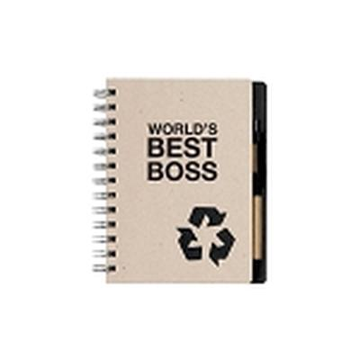 Click to get The Office Worlds Best Boss Notebook