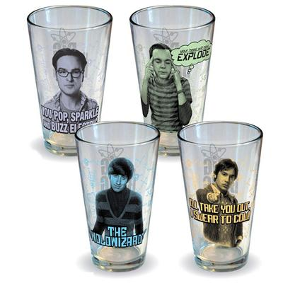 Click to get Big Bang Theory Character Glass Set