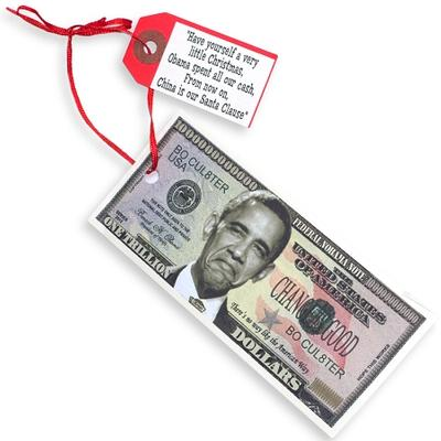 Click to get Obamas Stimulus Cash Ornament