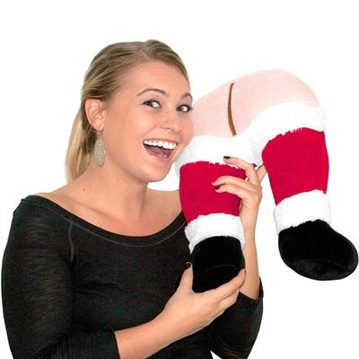 Click to get Santas Farting Butt Neck Pillow