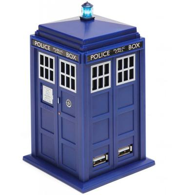 Click to get Doctor Who TARDIS 4 Port USB Hub