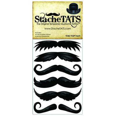 Click to get Stache Tats Tophat Temporary Mustache Tattoos