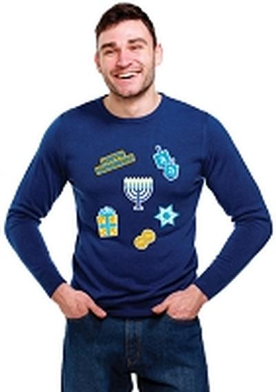 Click to get Instant Ugly Sweater Hanukkah