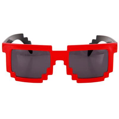 Click to get 8Bit Pixel Glasses Red