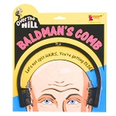 Click to get Over the Hill Bald Mans Comb