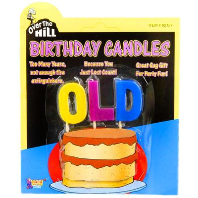 Click to get Over the Hill OLD Candles