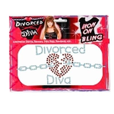 Click to get Divorce Diva IronOn Bling