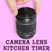 Camera Lens Kitchen Timer